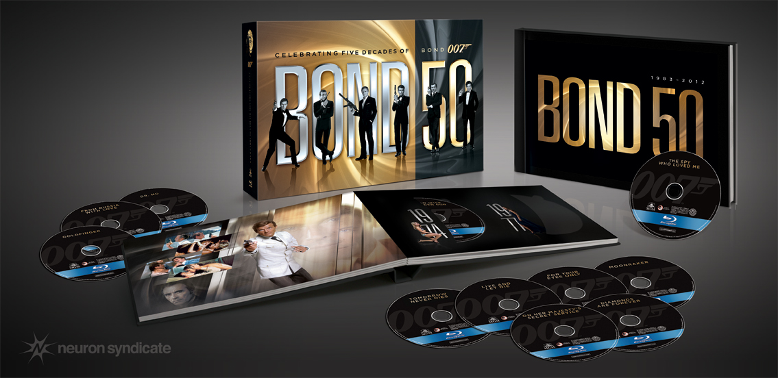 'Bond 50' Tops 'HM' Awards Bond 50th Packaging Neuron Syndicate Inc.